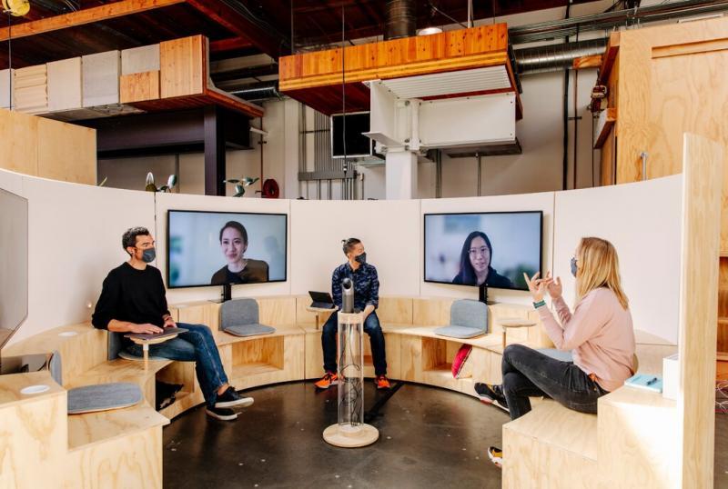 Google делает редизайн офисов, чтобы сотрудникам было комфортно возвращаться с удалёнки